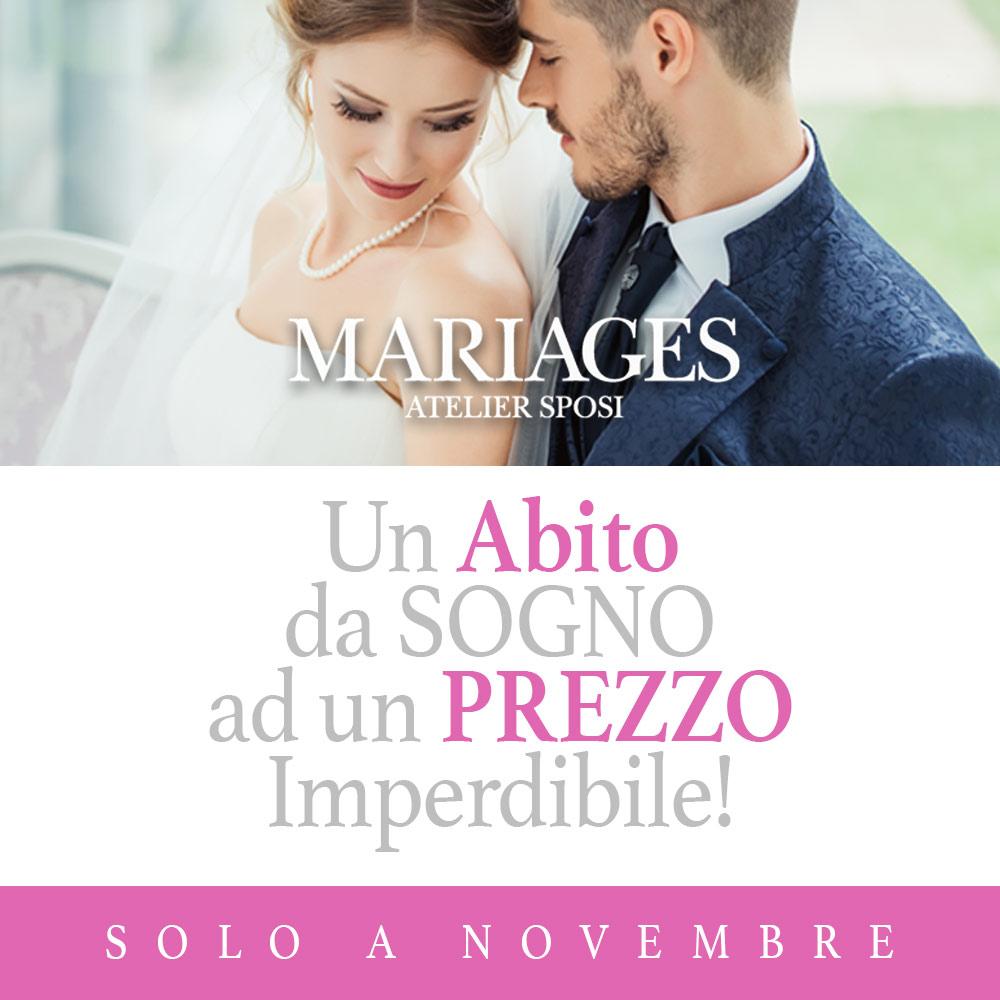 promozione abiti matrimonio