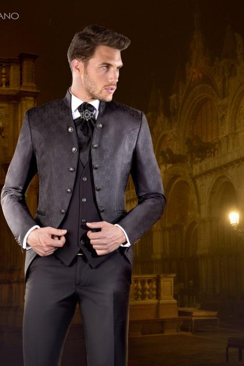 Enzo Romano: collezione 2018 vestiti da sposo.