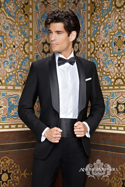 Andrea Versali: collezione 2018 vestiti da sposo.