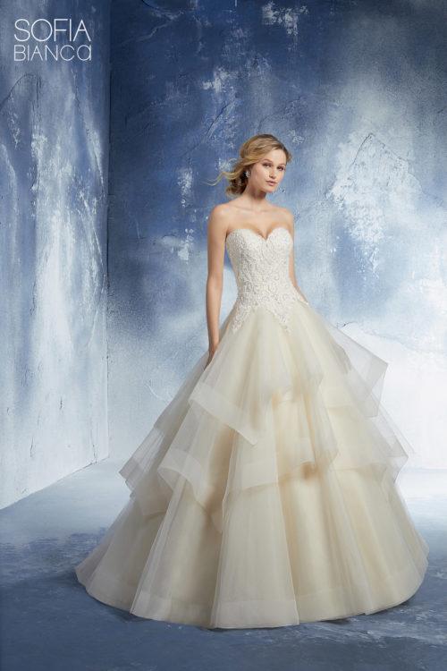 pretty nice cb236 5f929 06 - Mori Lee: collezione 2019 abiti e vestiti da sposa ...
