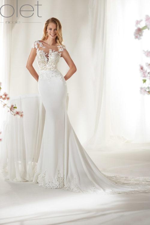 Vestiti Da Sposa Negozi.05 Nicole Colet Collezione 2019 Abiti E Vestiti Da Sposa