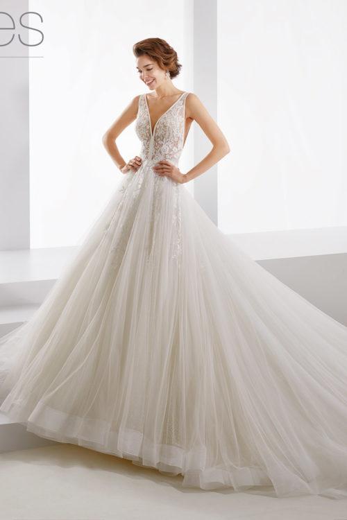 new style ff25d ddbc8 07 - Nicole Jolies: collezione 2019 abiti e vestiti da sposa ...