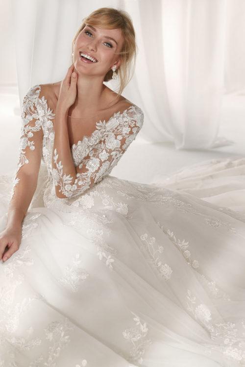03 - Nicole: collezione 2019 abiti e vestiti da sposa