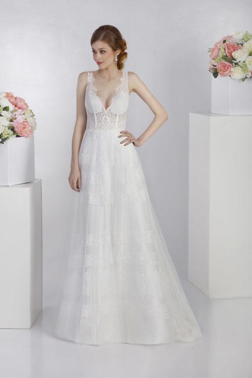 on sale f3d38 7e928 09 - Jasmine: collezione 2019 abiti e vestiti da sposa ...