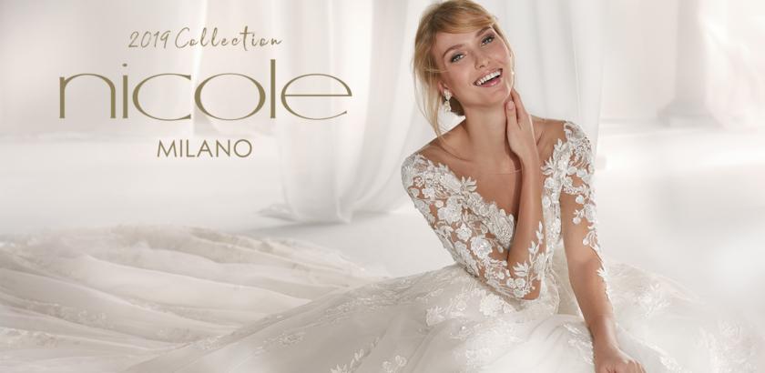 7714fd643ae0 Nicole Spose 2019 di Alessandra Rinaudo - Abiti Sposa e Sposo ...