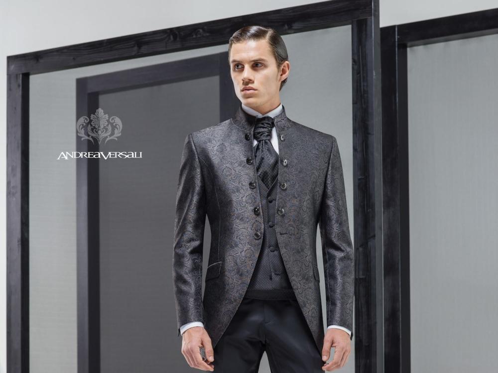 Abito da sposo -1703- Collezione Andrea Versali 2019 - Mariages a2d6ed571eb