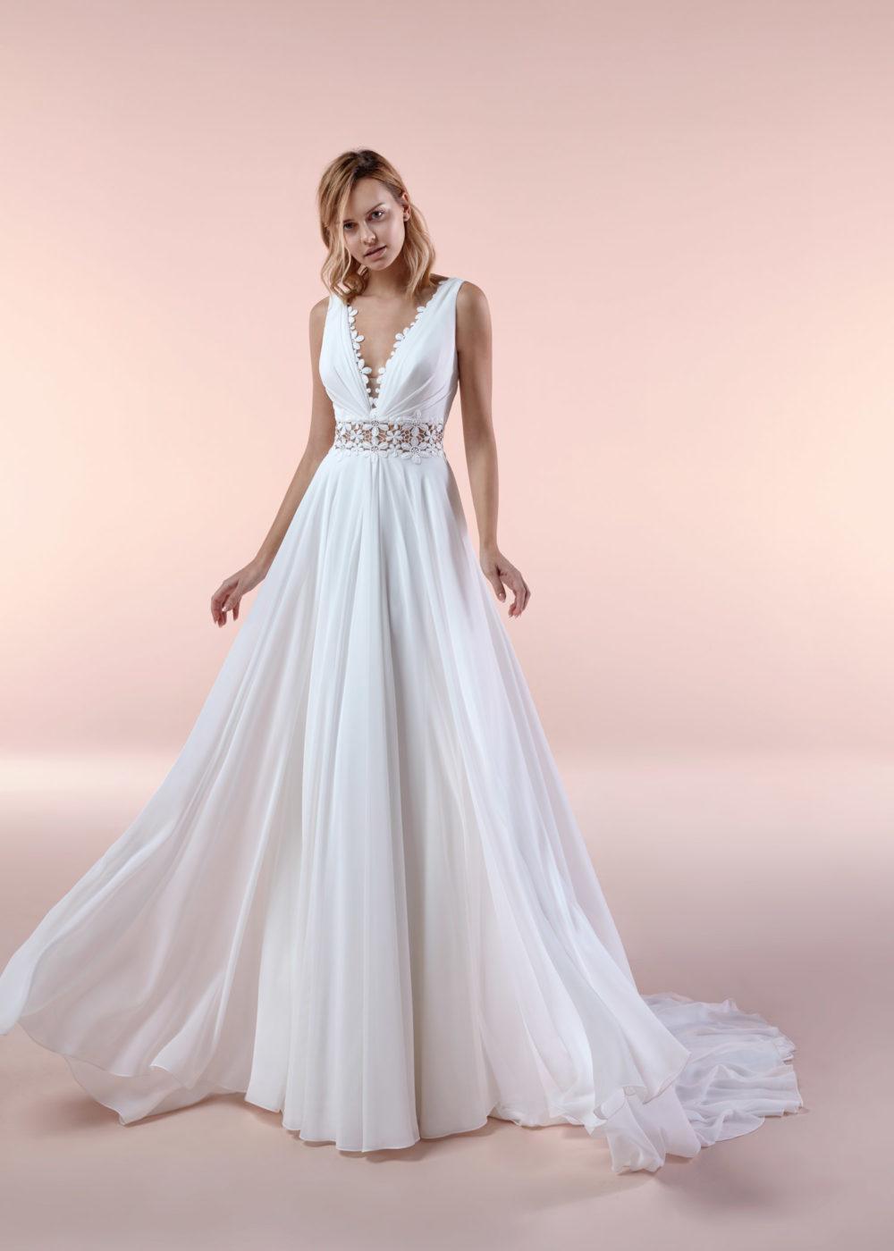 Mariages: Abito da sposa Boho Chic Nicole 2020 a Vicenza Verona Padova Veneto