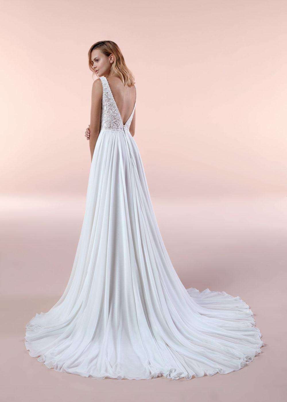 Mariages: abito da sposa Boho Chic Nicole 2020 a Vicenza Verona Padova Veneto BCA20071-2