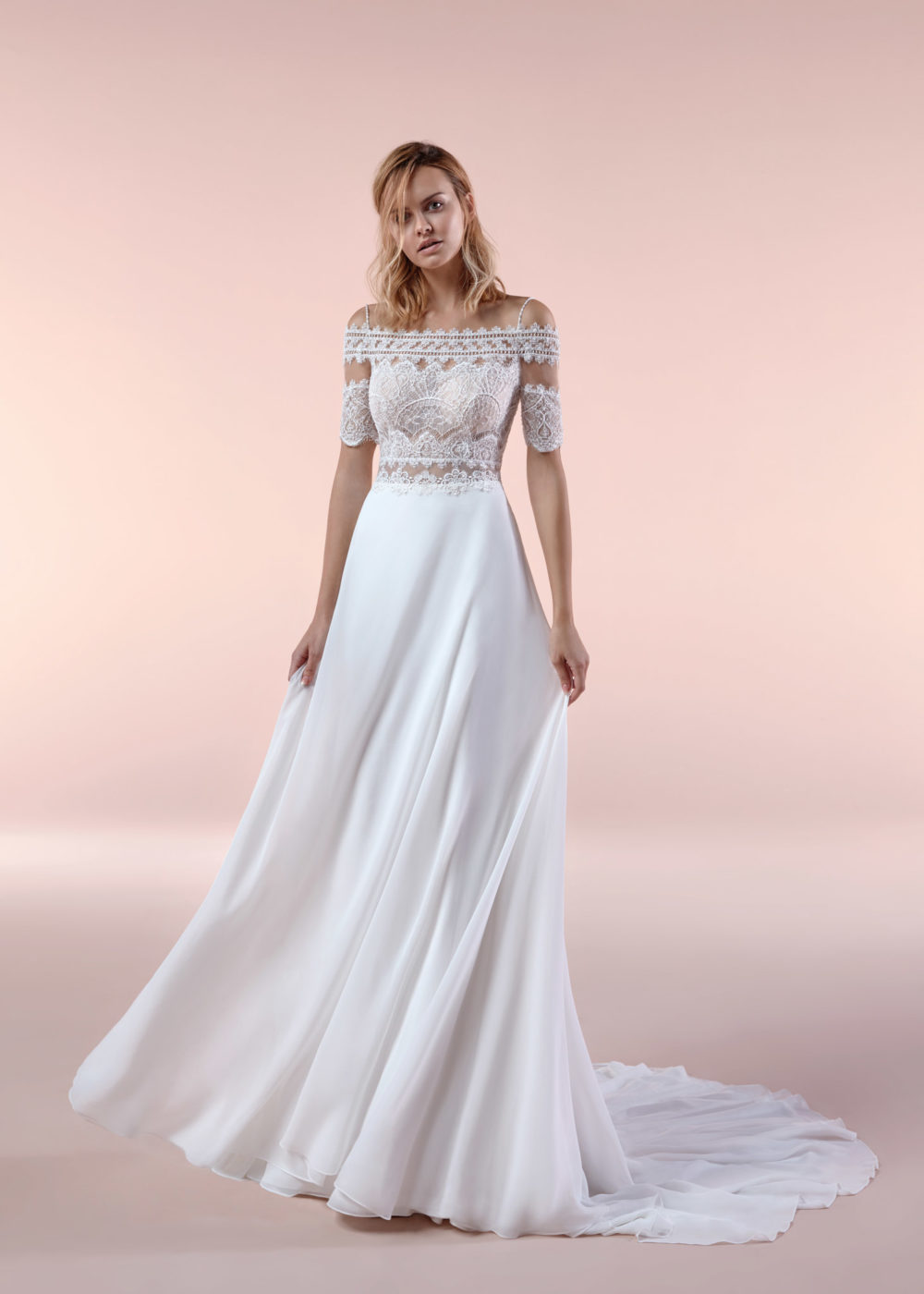Mariages: abito da sposa Boho Chic Nicole 2020 a Vicenza, Verona, Padova, Veneto BCA20091