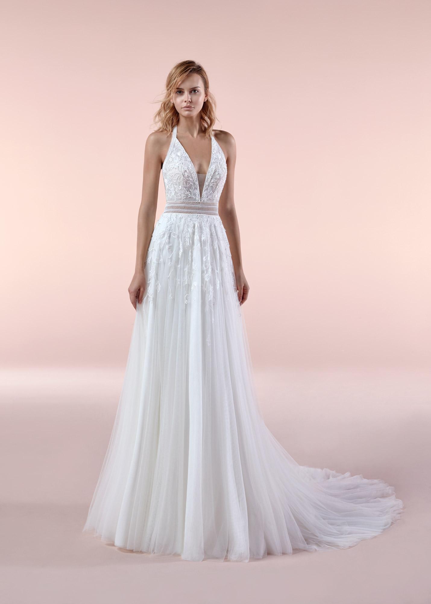 prezzo all'ingrosso più nuovo di vendita caldo all'ingrosso online Abito da sposa Boho Chic Nicole 2020 BCA20101 - Mariages ...