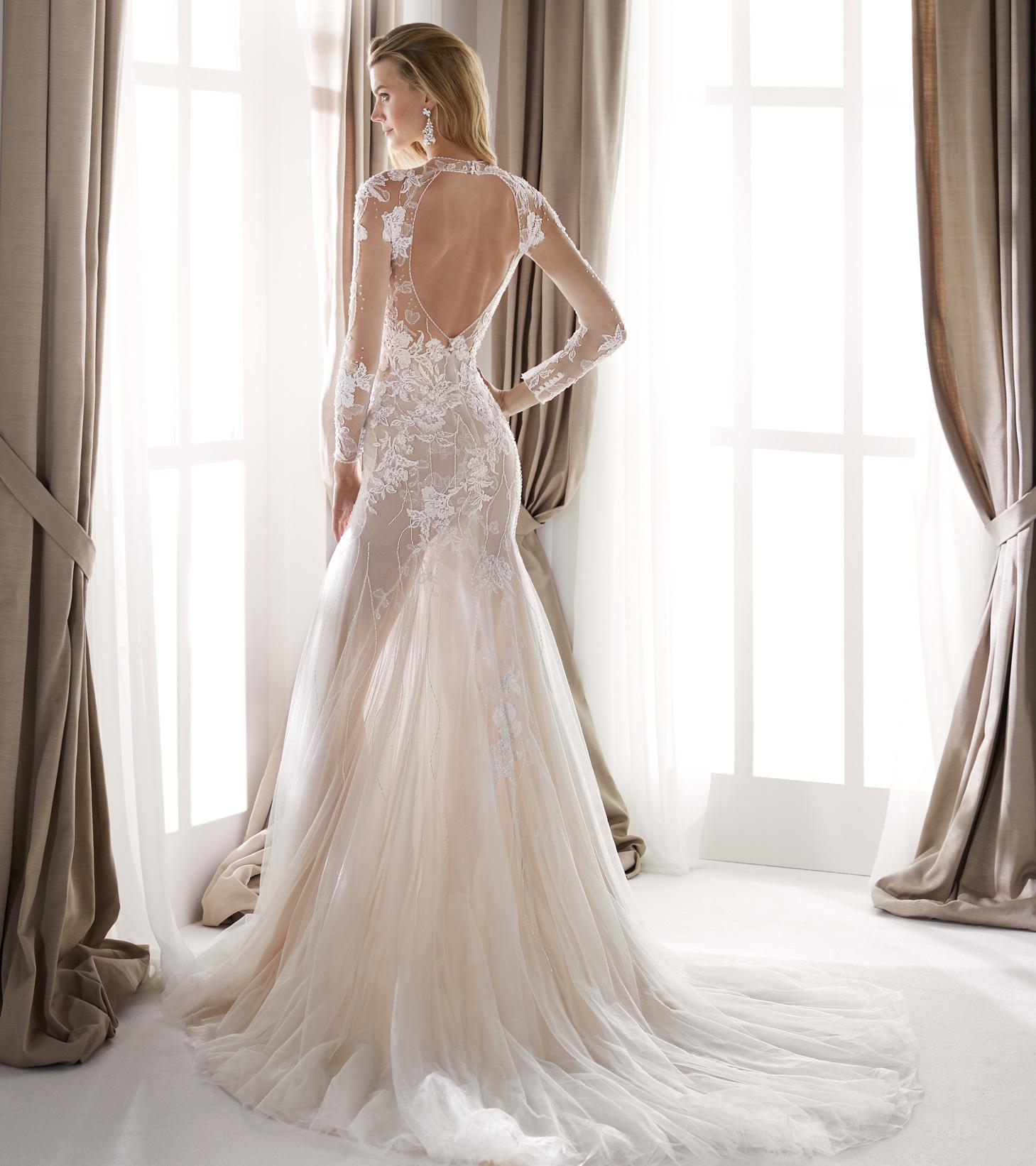 Vestiti Eleganti Vicenza.Abito Da Sposa Nicole 2020 Nia20431 Mariages It Abiti Sposa