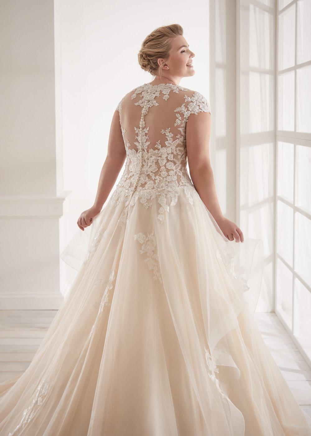 Mariages: abito da sposa Curvy 2020 a Vicenza, Verona, Padova, Veneto CVA20131