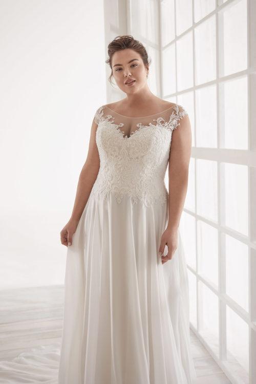 Mariages: abito da sposa Curvy 2020 a Vicenza, Verona, Padova, Veneto CVA20171