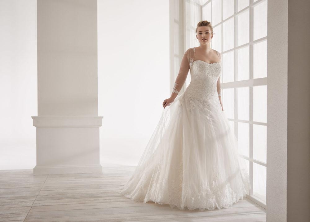 Mariages: abito da sposa Curvy 2020 a Vicenza, Verona, Padova, Veneto CVA20192