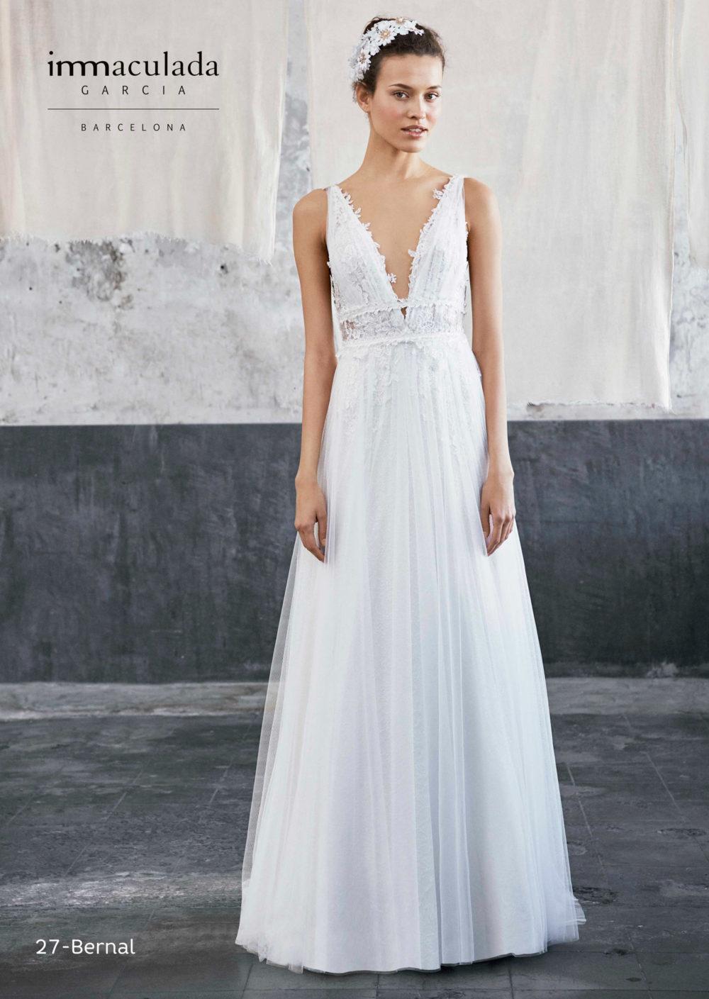 Mariages: abito da sposa Immaculada Garcia Barcelona 2020 a Vicenza, Verona, Padova, Veneto BERNAL