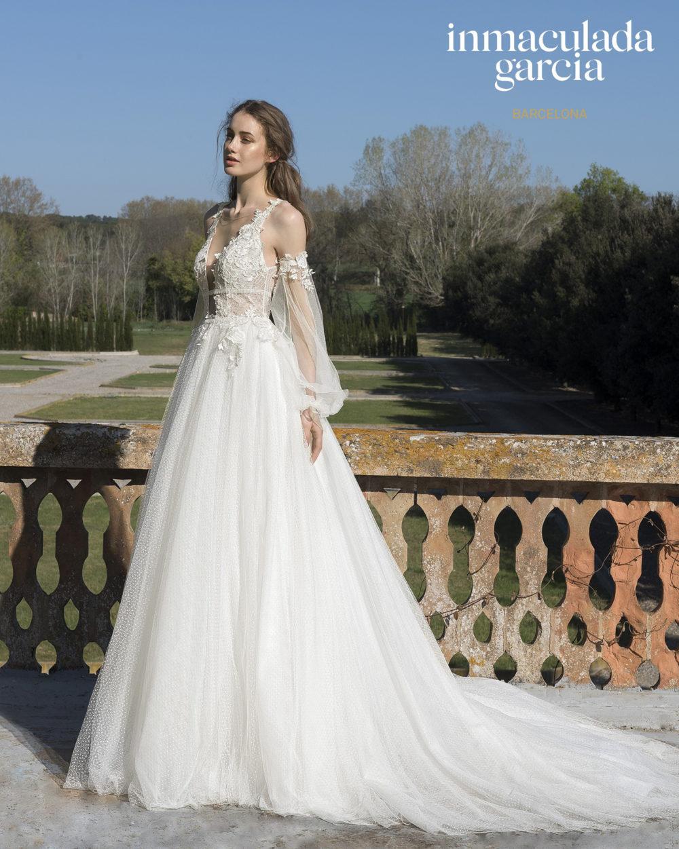 Mariages: abito da sposa Immaculada Garcia Barcelona 2020 a Vicenza, Verona, Padova, Veneto ECRU