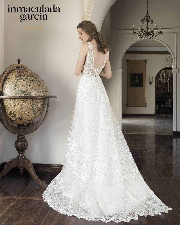 Mariages: abito da sposa Immaculada Garcia Barcelona 2020 a Vicenza, Verona, Padova, Veneto LAGUNA