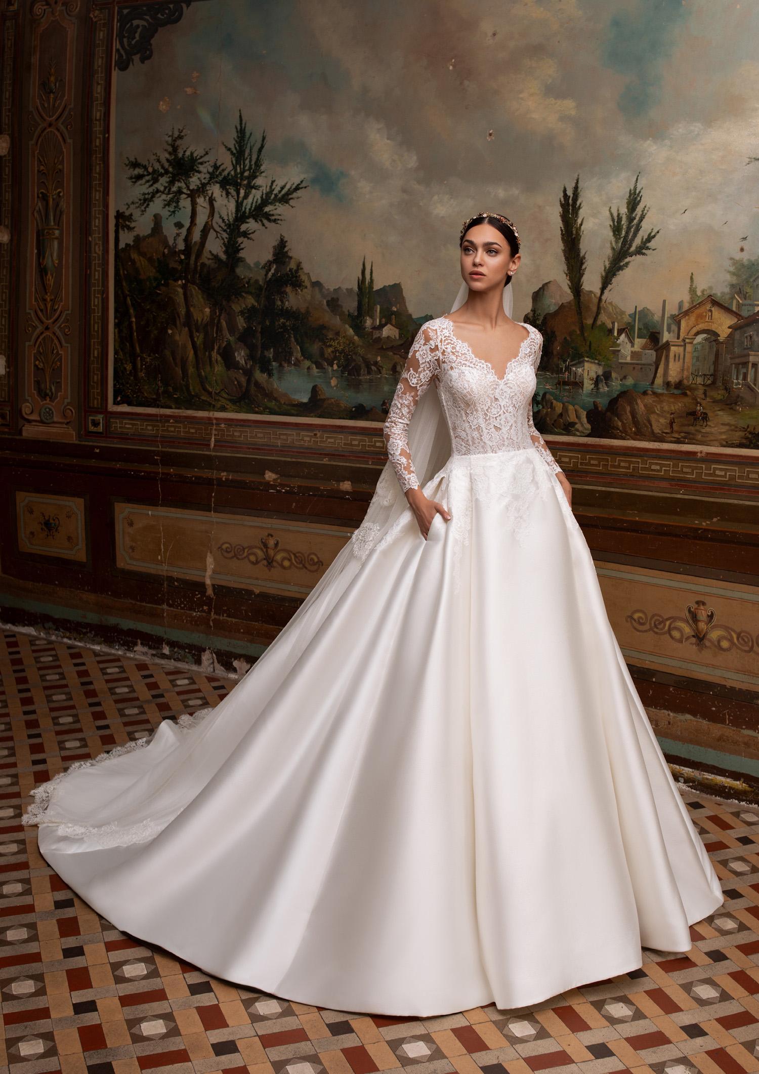 Vestiti Cerimonia Vicenza.Abito Da Sposa Pronovias 2020 Albion Mariages It Abiti Sposa