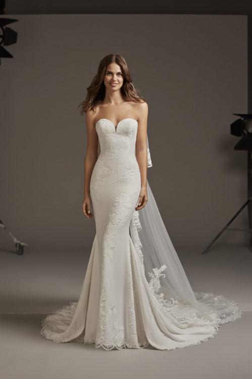 Mariages: abito da sposa Pronovias 2020 a Vicenza, Verona, Padova, Veneto ASTRID