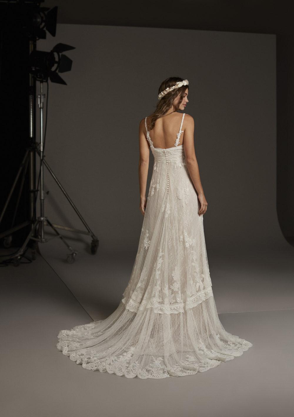 Mariages: abito da sposa Pronovias 2020 a Vicenza, Verona, Padova, Veneto CORDELIA
