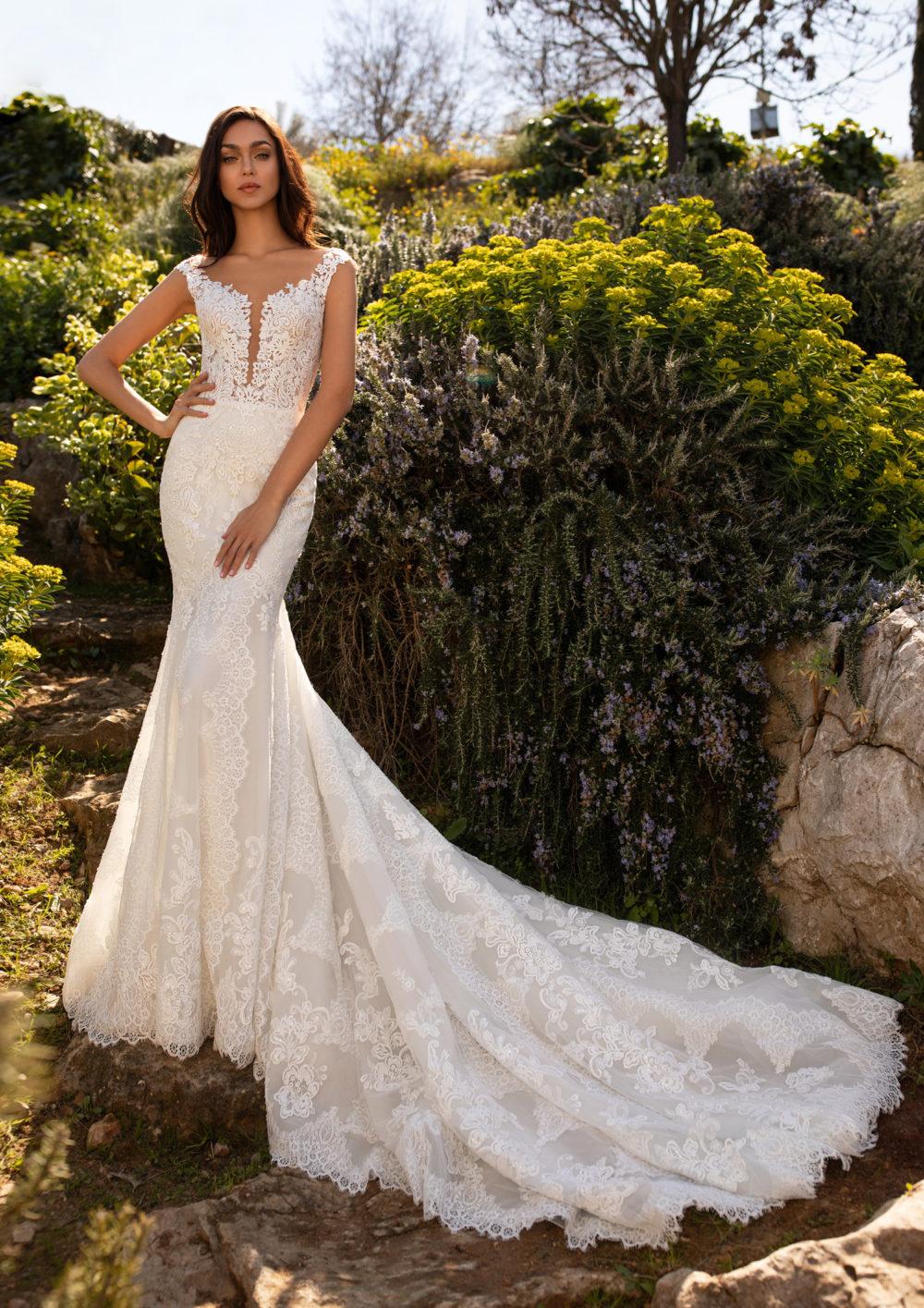 Mariages: abito da sposa Pronovias 2020 a Vicenza, Verona, Padova, Veneto DESPINA