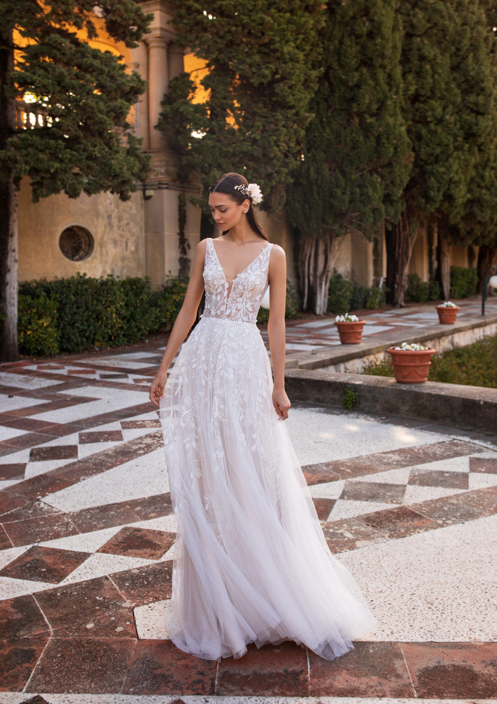 Mariages: abito da sposa Pronovias 2020 a Vicenza, Verona, Padova, Veneto ELARA