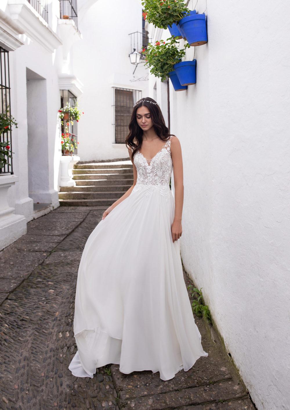 Mariages: abito da sposa Pronovias 2020 a Vicenza, Verona, Padova, Veneto ERIDANI