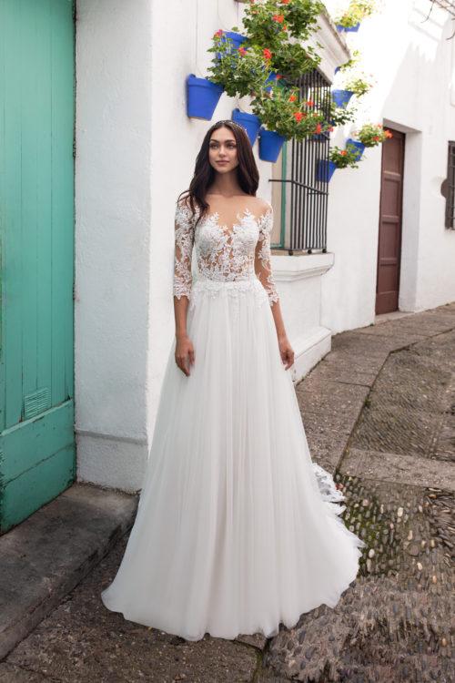 Mariages: abito da sposa Pronovias 2020 a Vicenza, Verona, Padova, Veneto FORNAX