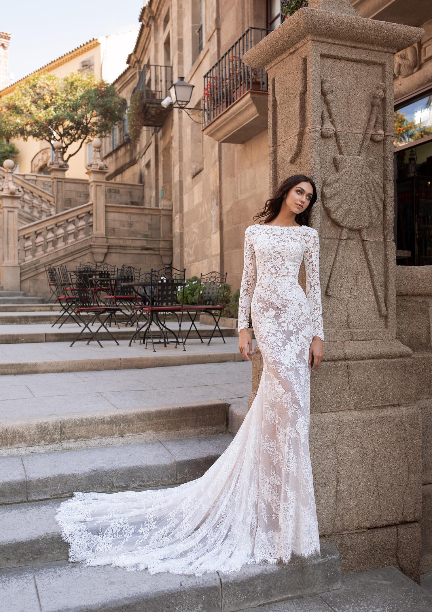 Vestiti Cerimonia Vicenza.Abito Da Sposa Pronovias 2020 Telesto Mariages It Abiti