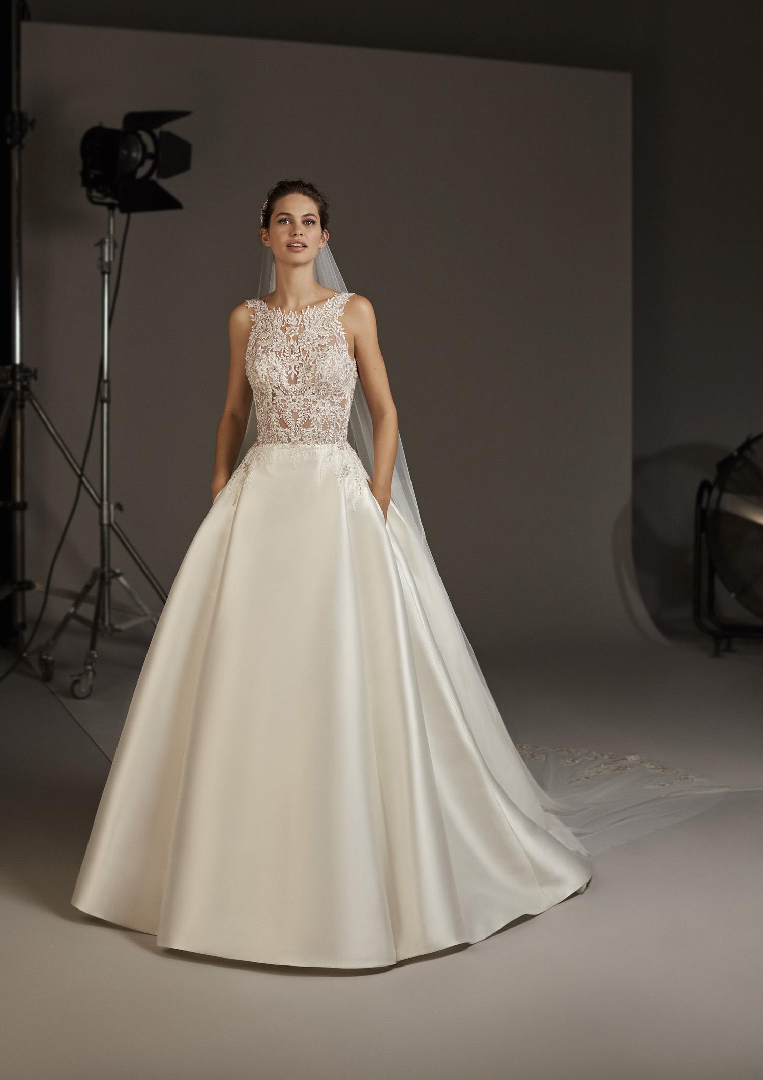 Abiti Da Sposa Pronovias.Abito Da Sposa Pronovias 2020 Virgo Mariages It Abiti Sposa