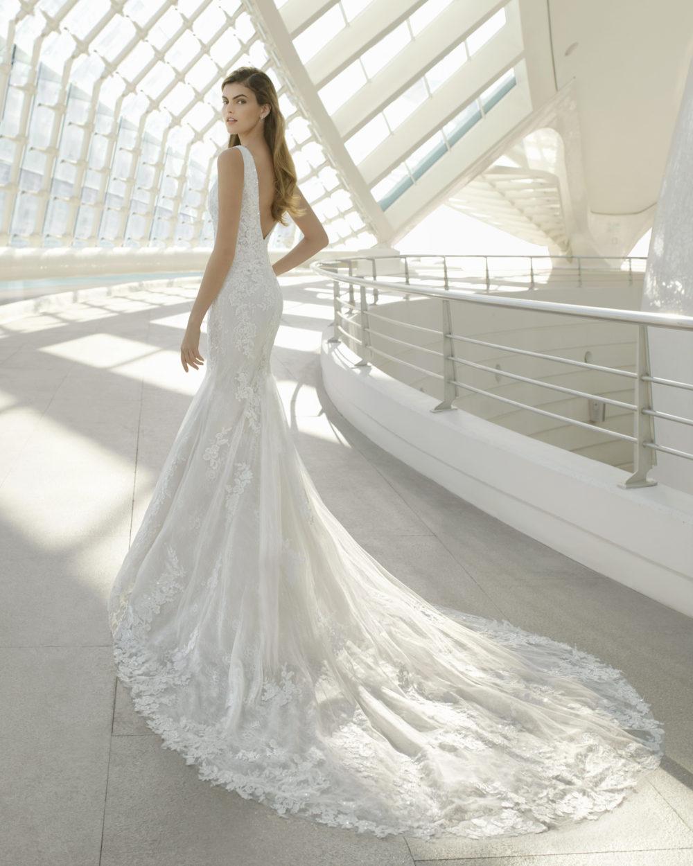 Mariages: abito da sposa Rosa Clarà 2020 a Vicenza, Verona, Padova, Veneto 3A224 DARIO