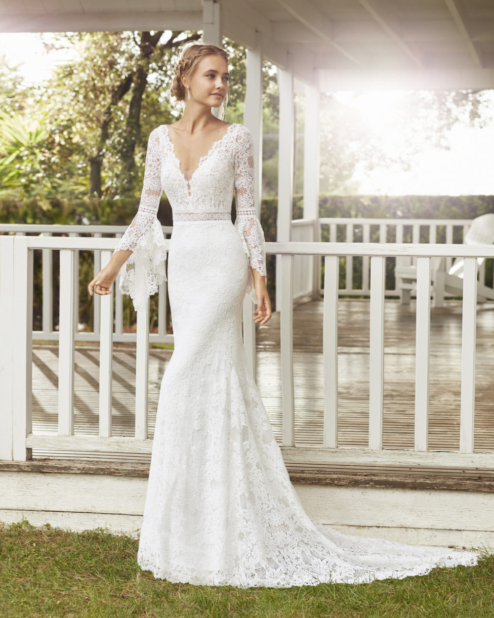 Mariages: abito da sposa Rosa Clarà 2020 a Vicenza, Verona, Padova, Veneto 4A122 CANDID