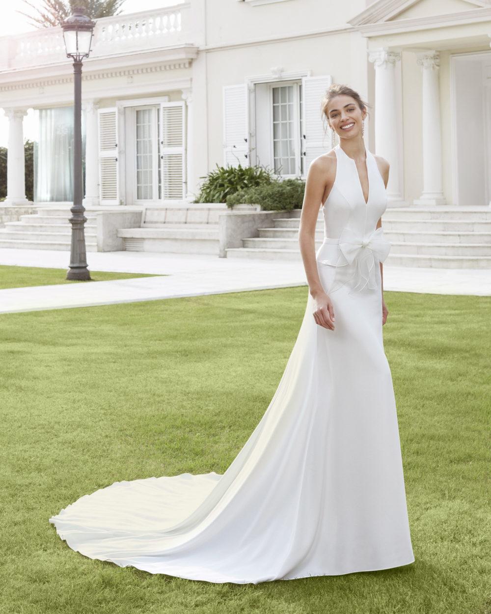 Mariages: abito da sposa Rosa Clarà 2020 a Vicenza, Verona, Padova, Veneto 4A129 CARIEL