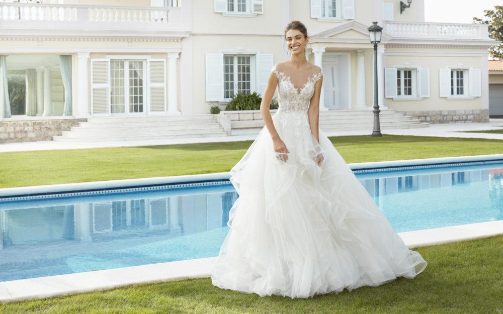 Mariages: abito da sposa Rosa Clarà 2020 a Vicenza, Verona, Padova, Veneto 4A185 COIREL