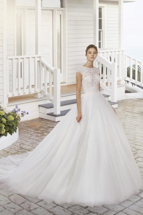 Mariages: abito da sposa Rosa Clarà 2020 a Vicenza, Verona, Padova, Veneto 4A199 CORALIA