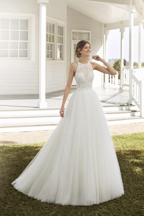 Mariages: abito da sposa Rosa Clarà 2020 a Vicenza, Verona, Padova, Veneto 4A1B3 COSTEL