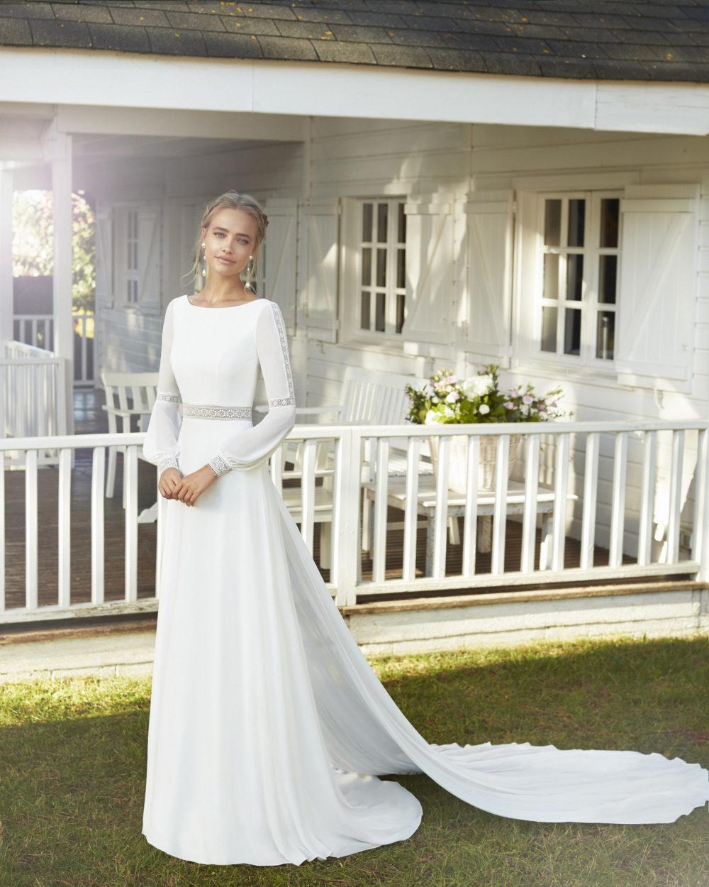 Mariages: abito da sposa Rosa Clarà 2020 a Vicenza, Verona, Padova, Veneto 4A205 CADIRA