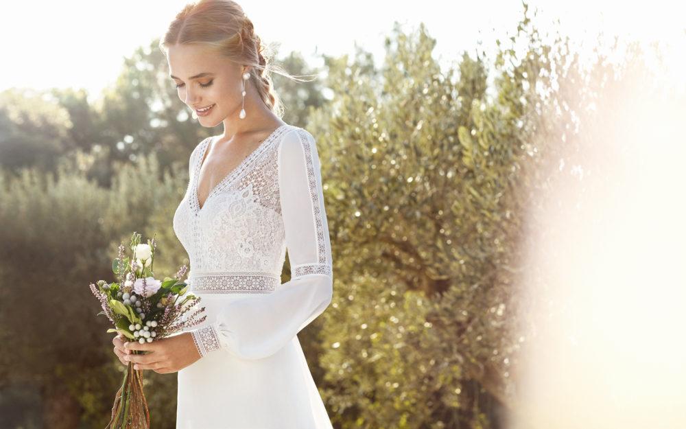 Mariages: abito da sposa Rosa Clarà 2020 a Vicenza, Verona, Padova, Veneto 4A209 CAIMAD