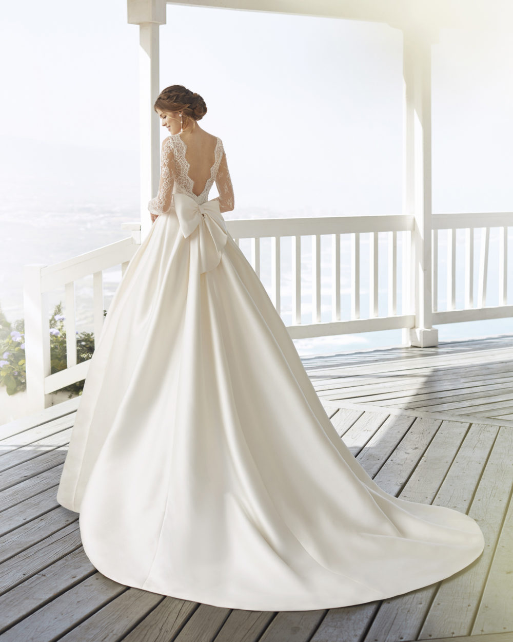 Mariages: abito da sposa Rosa Clarà 2020 a Vicenza, Verona, Padova, Veneto 4A2C8 CUZCO