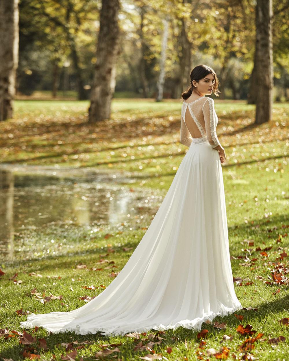 Mariages: abito da sposa Rosa Clarà 2020 a Vicenza, Verona, Padova, Veneto 4B108 OBRA