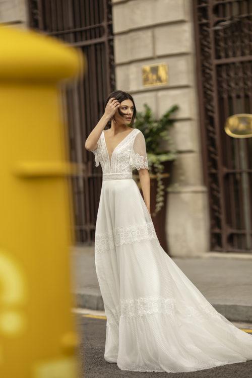 Mariages: abito da sposa Rosa Clarà 2020 a Vicenza, Verona, Padova, Veneto 4B117 OCIARE