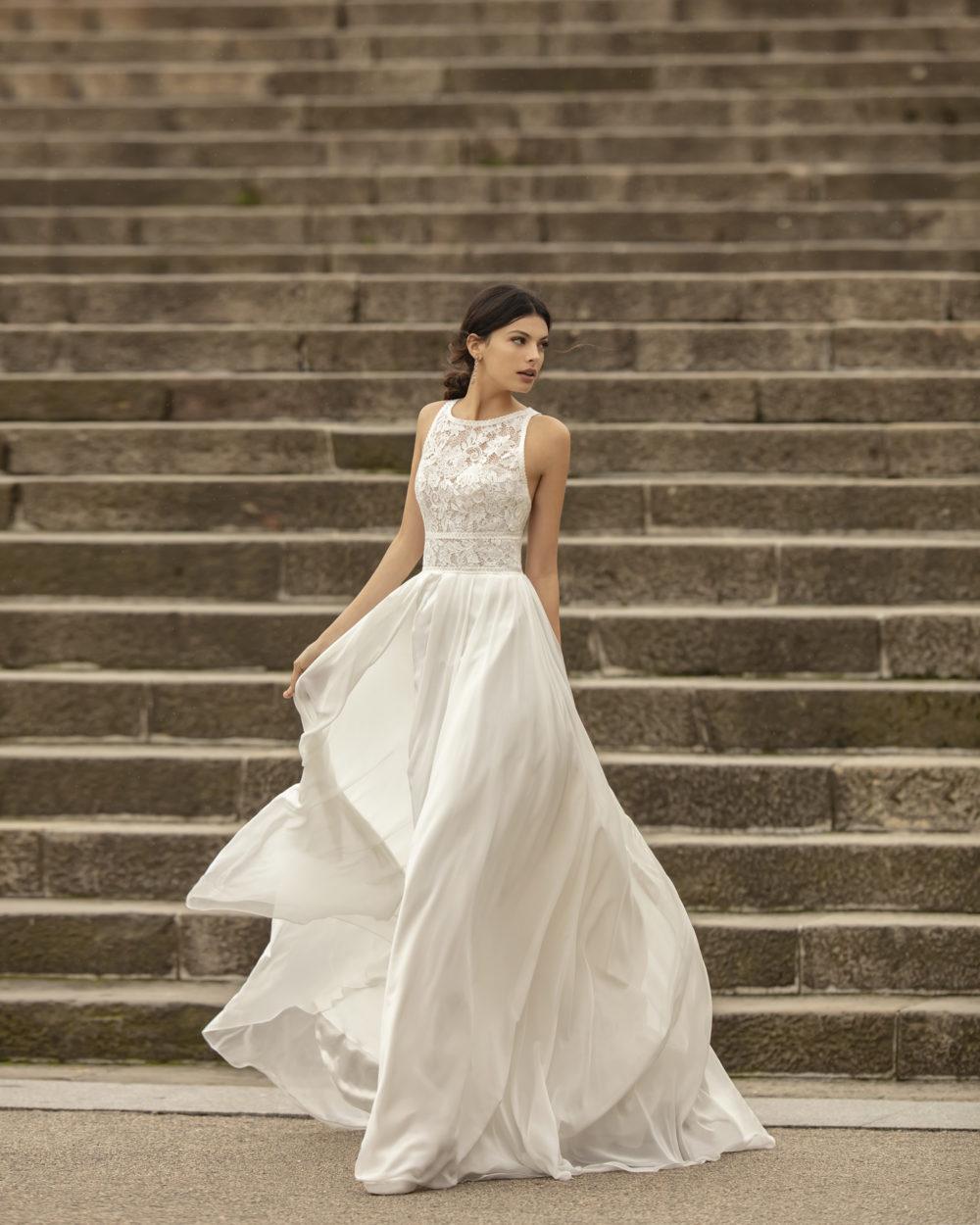Mariages: abito da sposa Rosa Clarà 2020 a Vicenza, Verona, Padova, Veneto 4B131 OFIM