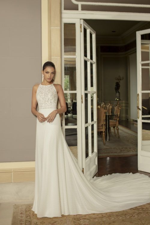 Mariages: abito da sposa Rosa Clarà 2020 a Vicenza, Verona, Padova, Veneto 4B133 OKAPI