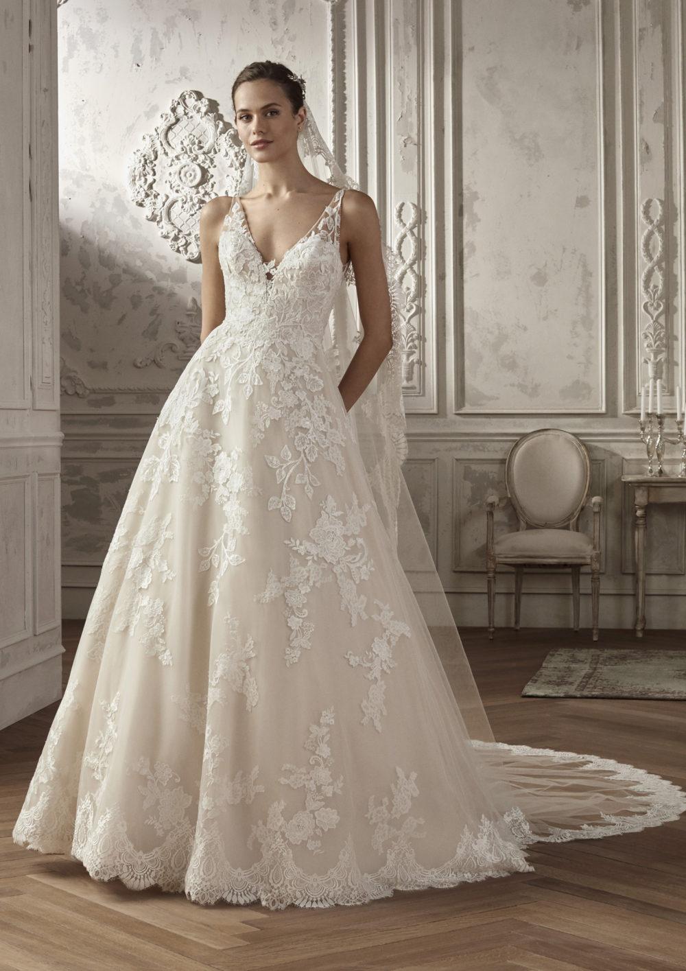 Mariages: abito da sposa San Patrick 2020 a Vicenza, Verona, Padova, Veneto AMPURIAS