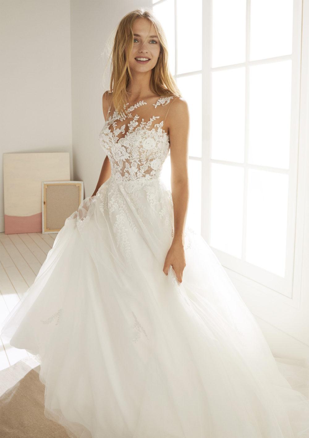 Mariages: abito da sposa Poéme 2020 a Vicenza, Verona, Padova, Veneto OROPESA