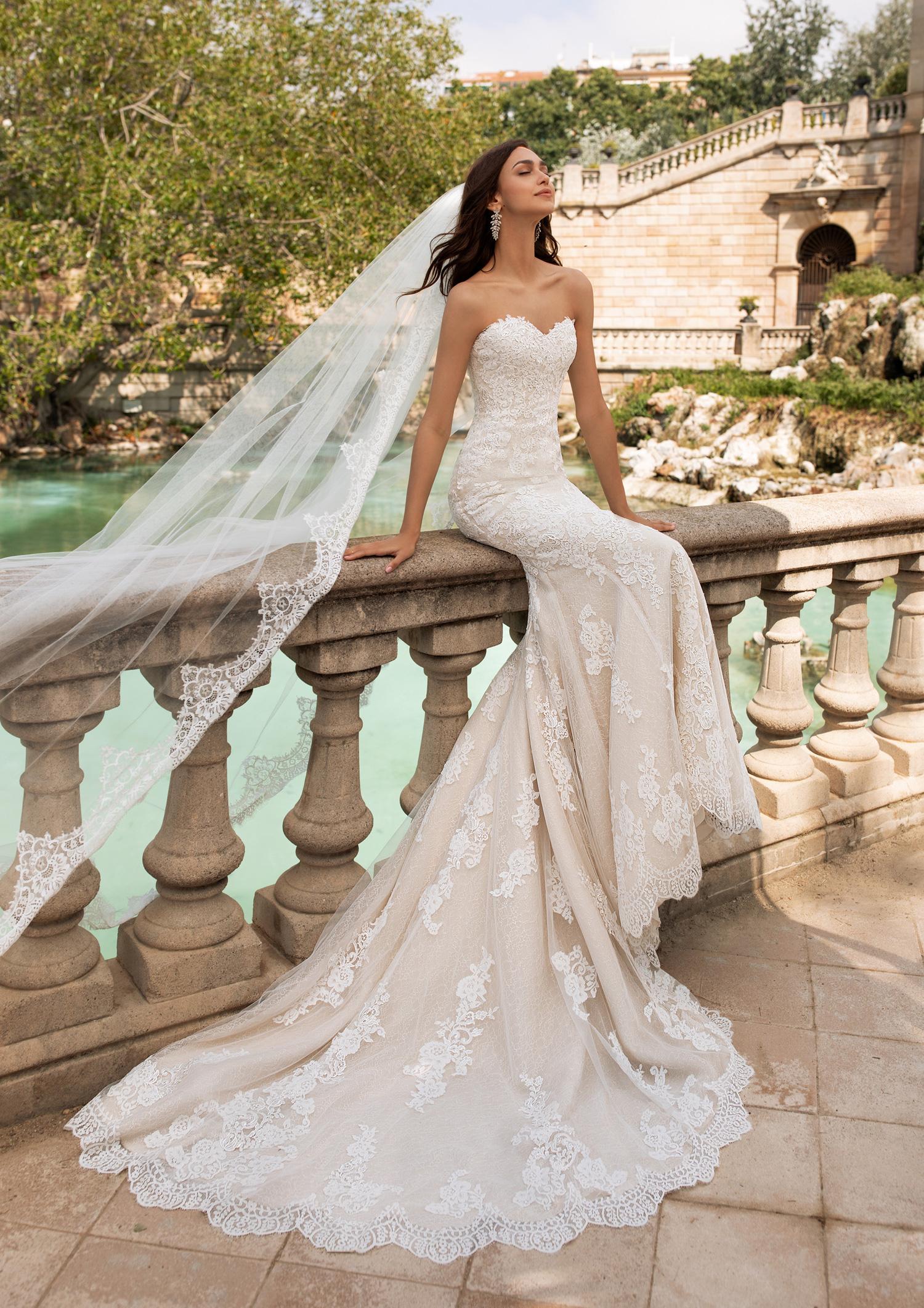Vestiti Da Sposa Vicenza.Abito Da Sposa Pronovias 2020 Princia Mariages It Abiti