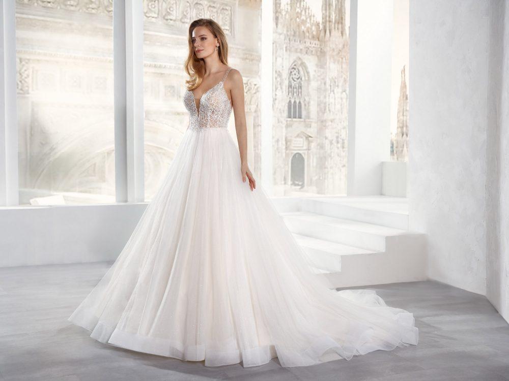 Mariages: abito da sposa Jolies 2021 a Vicenza, Verona, Padova, Veneto JO12157