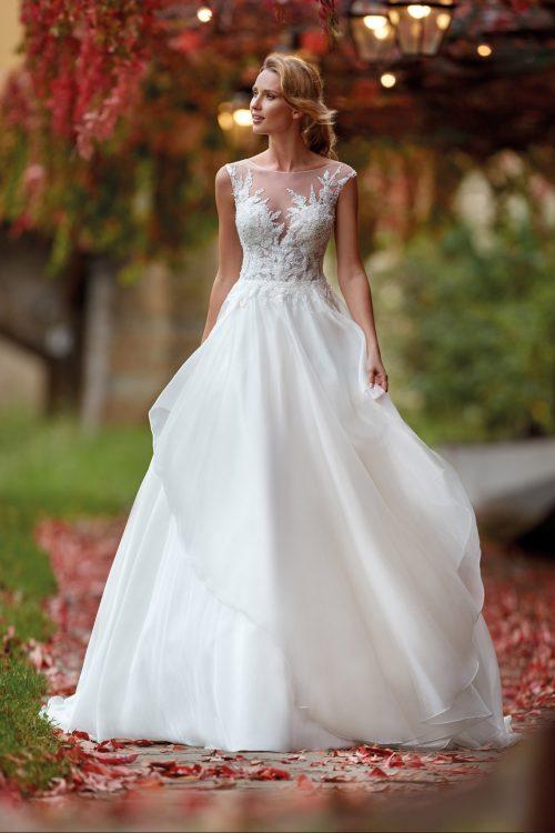 Mariages: abito da sposa Nicole 2021 a Vicenza, Verona, Padova, Veneto NI12124