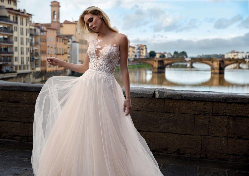 Mariages: abito da sposa Nicole 2021 a Vicenza, Verona, Padova, Veneto NI12144