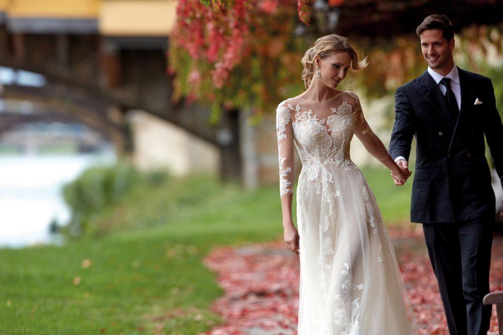 Mariages: abito da sposa Nicole 2021 a Vicenza, Verona, Padova, Veneto NI12181